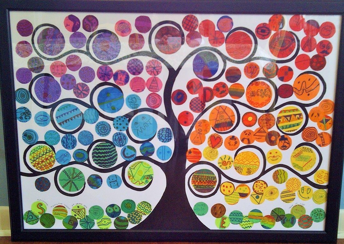 Hamilton School S Spring Fundraiser 5th Grade Art Project