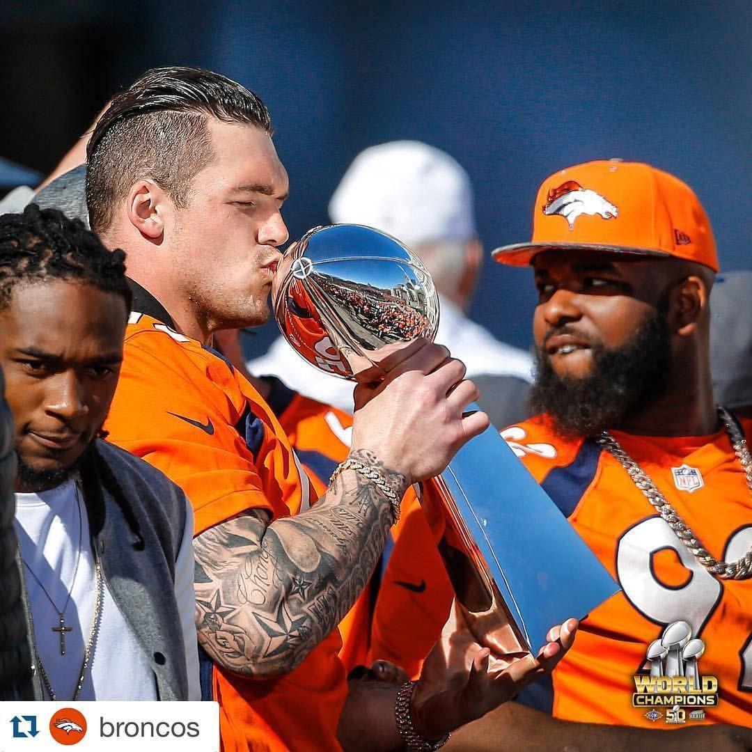 World champions DEFWU Derek Wolfe Denver Broncos