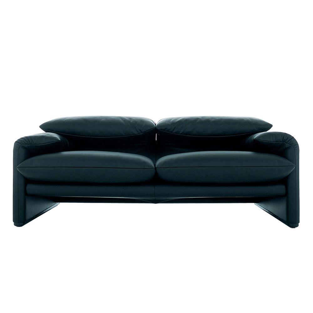 Cassina 675 Maralunga 2 Seater Sofa Sofa Design Sofa Armchairs