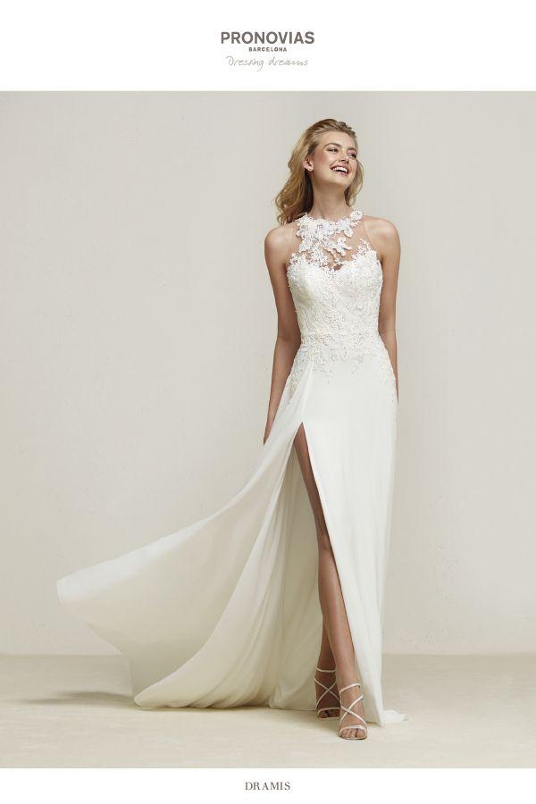 Beach wedding dress   Wedding Dresses   Pinterest   Brautkleid