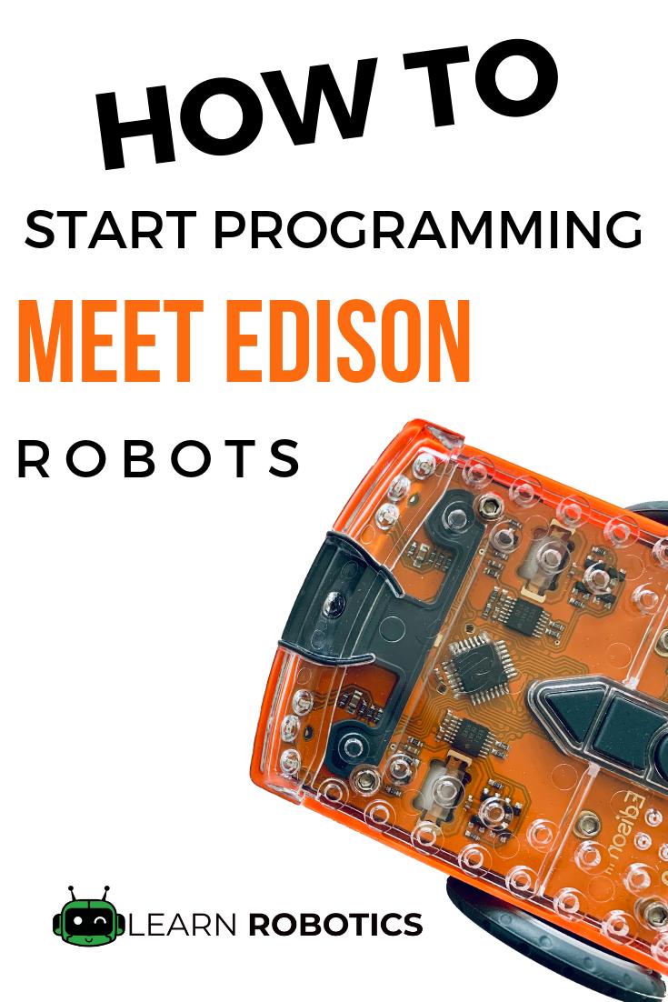 How to Get Started with Meet Edison Robots is part of Edison robot, Robot programming, Learn robotics, Educational robots, Robot, Stem robotics - Learn how to program your Meet Edison Robot for a variety of STEM & robotics education challenges  We'll show you how to get started with Meet Edison Robots