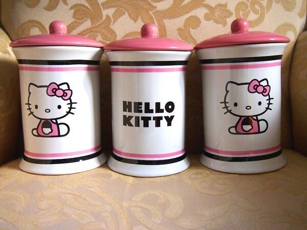 appealing hello kitty living room | Pin by Kelly Young on Hellokittyme | Hello kitty kitchen ...