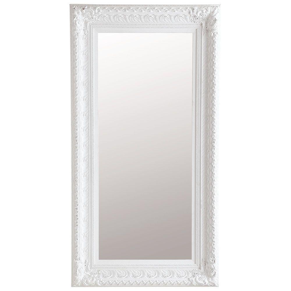 Spiegel Marquise Wit 95x180 Spiegel Decoratie Meubels