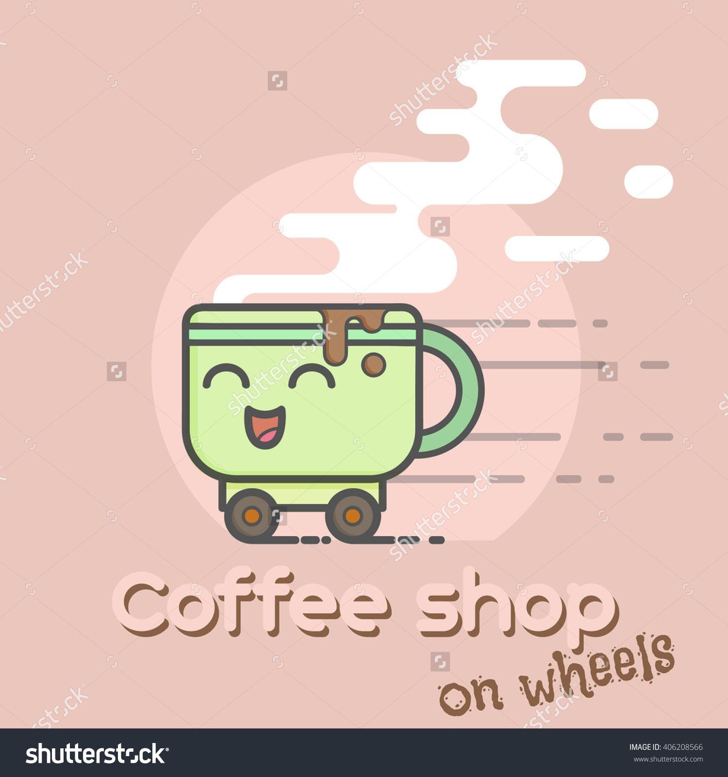 Coffee Cup Clip Art Coffee cup art, Coffee cartoon