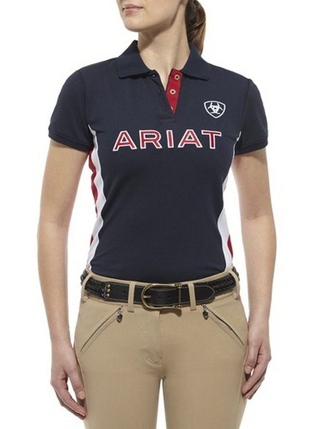 Ariat Women's Short Sleeve Team Polo >>> This is an Amazon ...