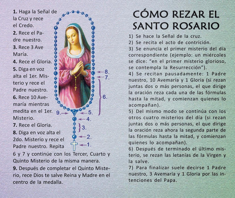 Como rezar el santo rosario 1500 1265 - Como limpiar un rosario de plata ...