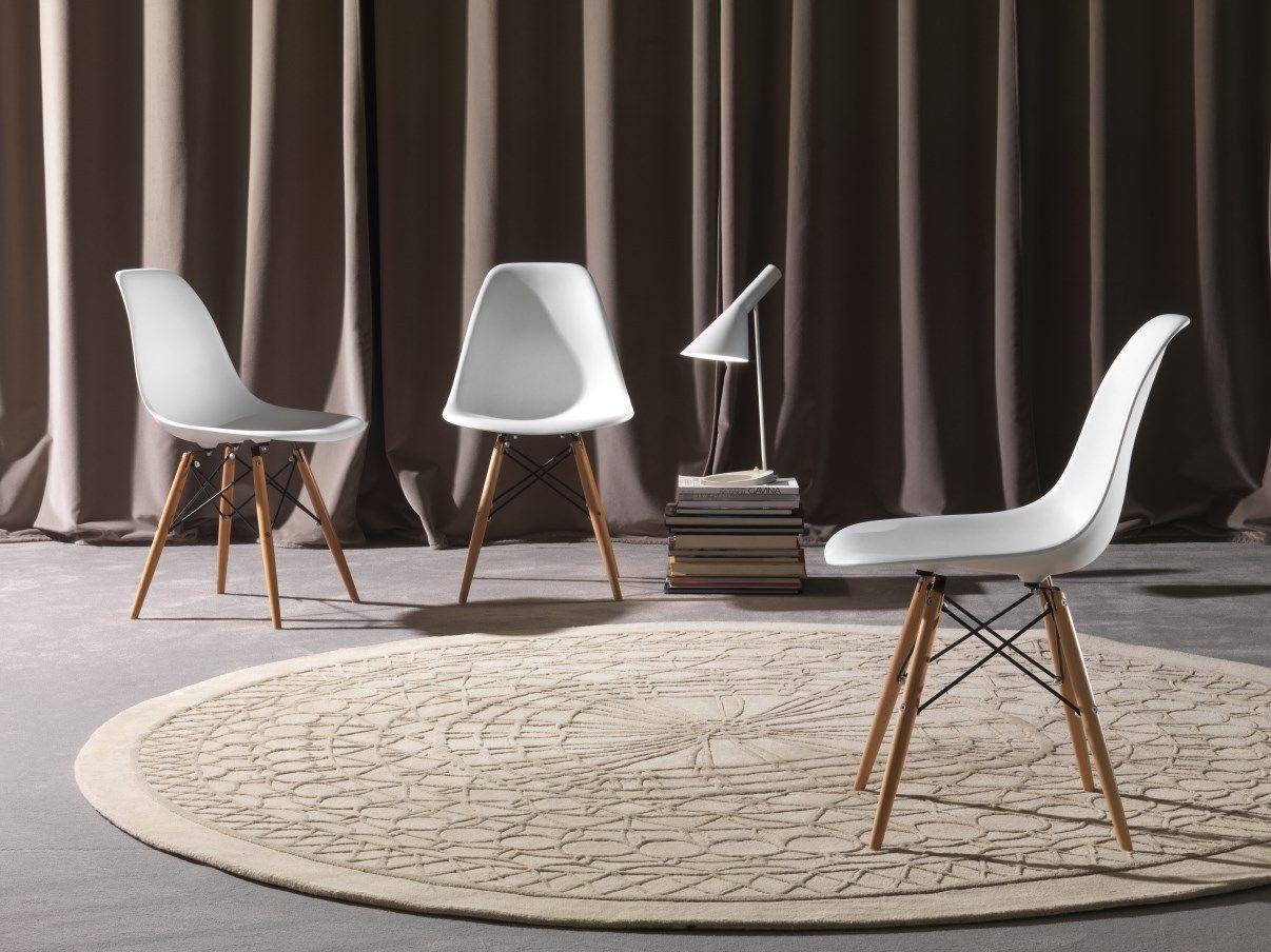 SET 4 SEDIE DESIGN BIANCHE cucina soggiorno bianco legno eleganti ...