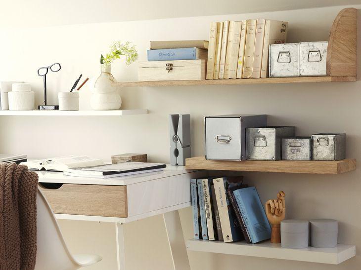 tablettes d coratives le rangement tendance leroy merlin interior design items. Black Bedroom Furniture Sets. Home Design Ideas