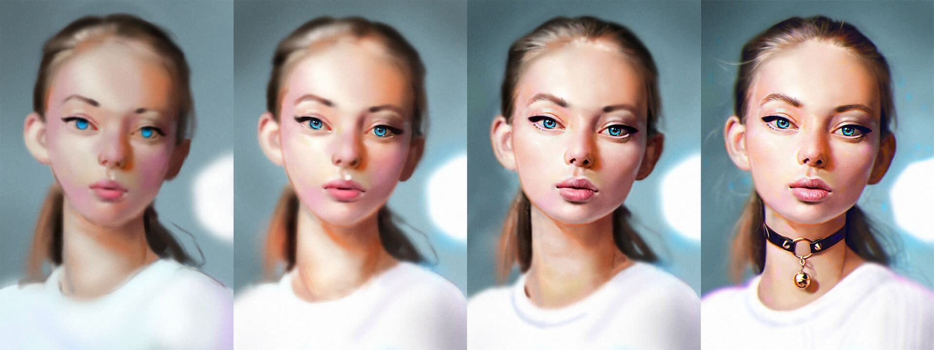 A sample art process by Rene Gorecki