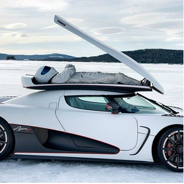 "Koenigsegg Fastest Car: ""I Always Pack My Stig"" Koenigsegg Agera"