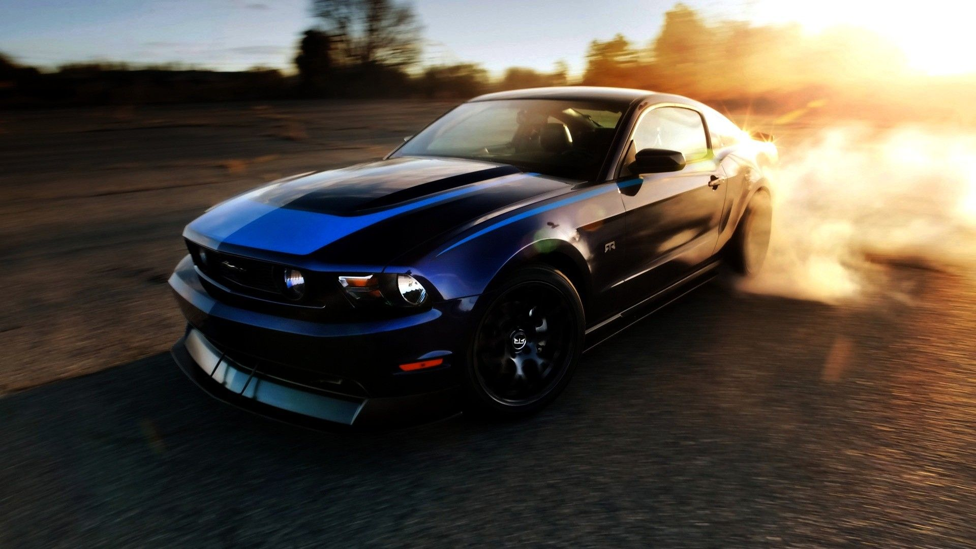 Iphone wallpaper zzz - 2014 Ford Mustang Burnout Hd Wallpapers 1080p Cars