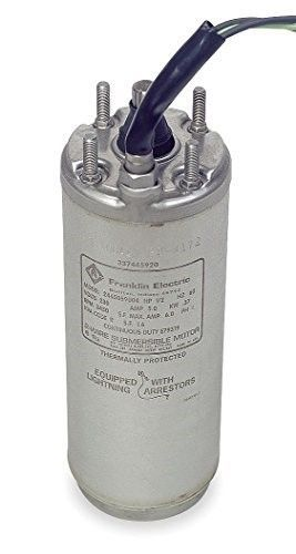 Franklin Deep Well Submersible Pump Motor Deep Well Submersible Pump Submersible Pump Franklin Electric