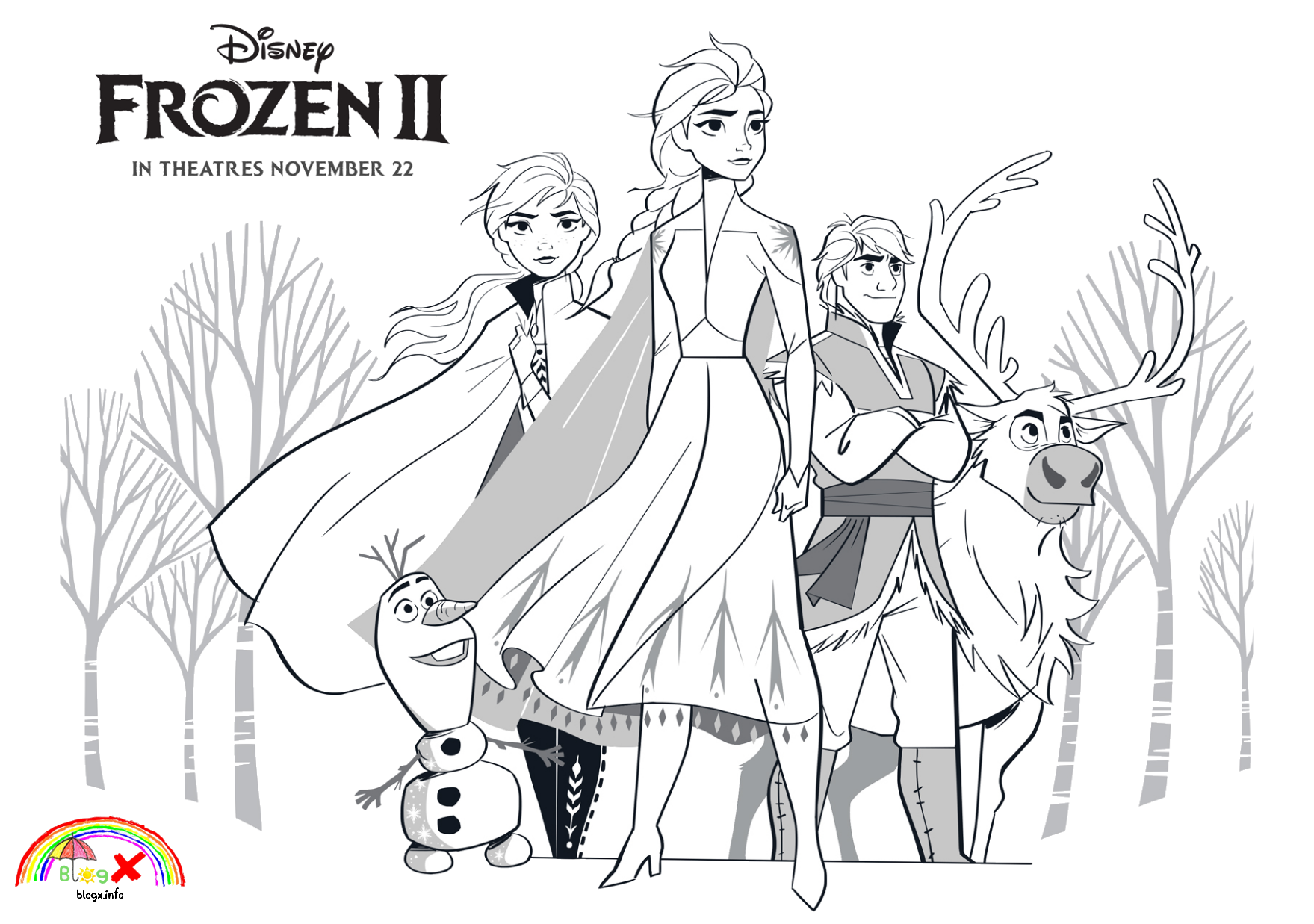 Free Download To Print Frozen 2 Coloring Page Coloring Pages Allow Kids To Acc In 2020 Disney Princess Coloring Pages Frozen Coloring Pages Princess Coloring Pages