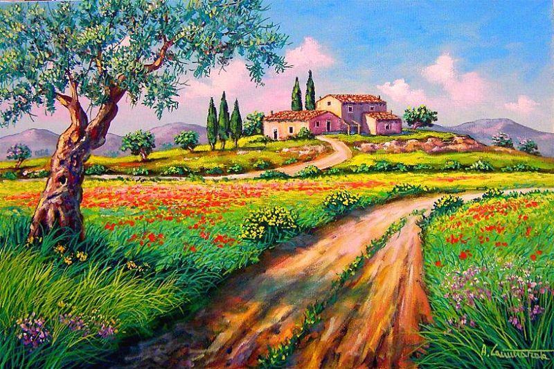 Beautiful Quadri Paesaggi Toscani Images - Ameripest.us - ameripest.us