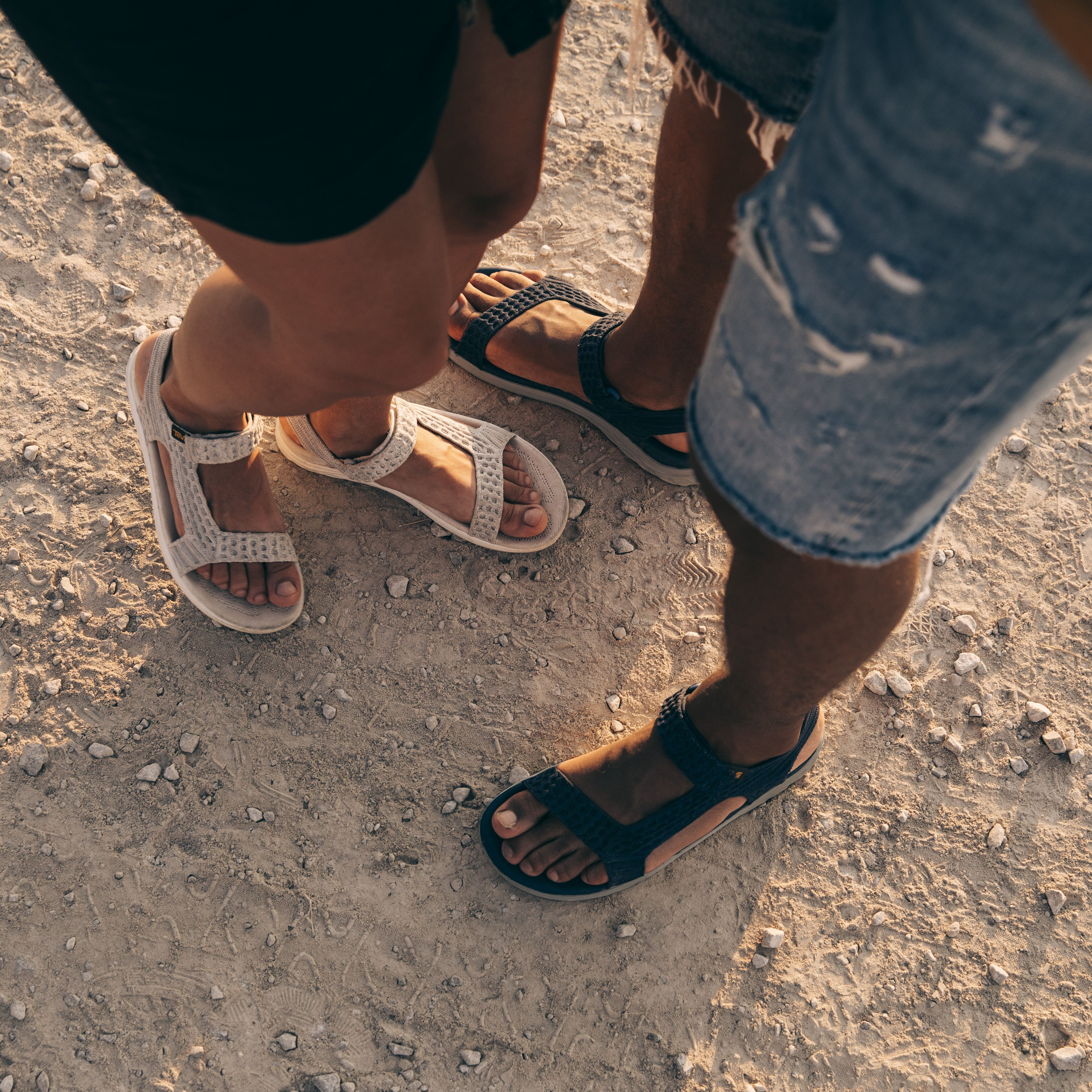416caad92fad His   hers Terra-Float 2 Knit Universal sandals and a sign of a couple in  sync.  StrapIntoFreedom