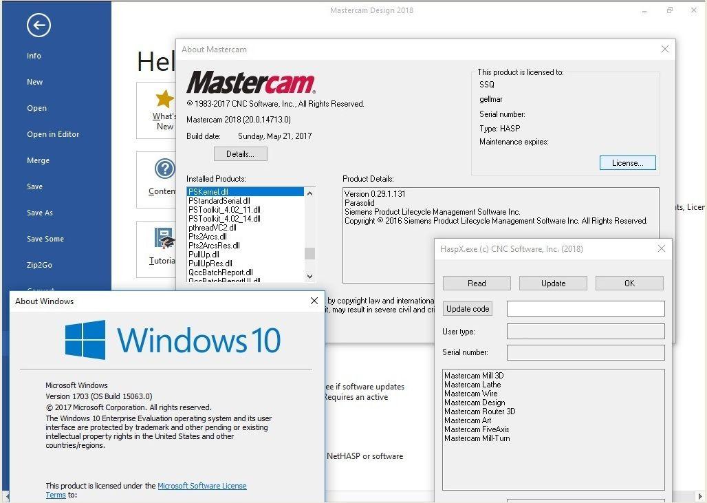 phần mềm Mastercam 2018 x64 full license | Phần mềm CAD/CAM/CNC