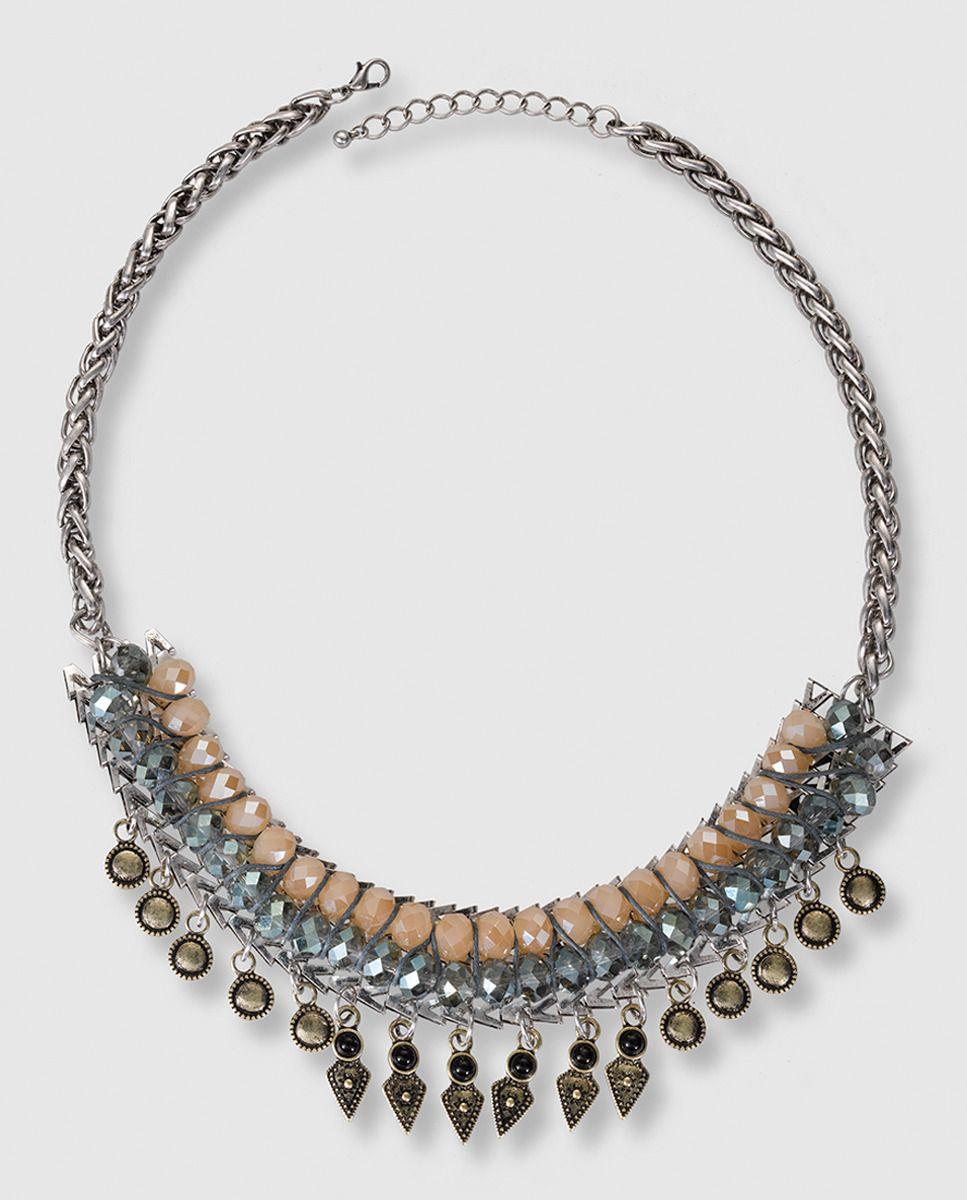 0e87e11a835f Collar Fórmula Joven de cristal en tonos pastel