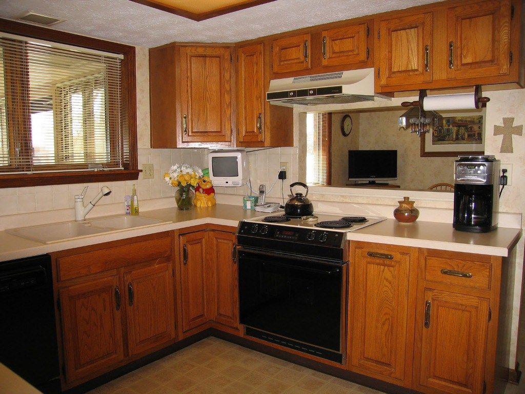 Home Interiors Ideas Painting Oak Kitchen Cabinets Oak Kitchen Cabinets Dark Brown Home Design Ideas Kitchen Colour Schemes Best Kitchen Colors Kitchen Design