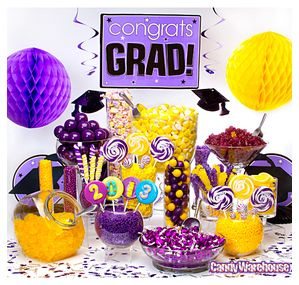 Purple and Gold candy bar!