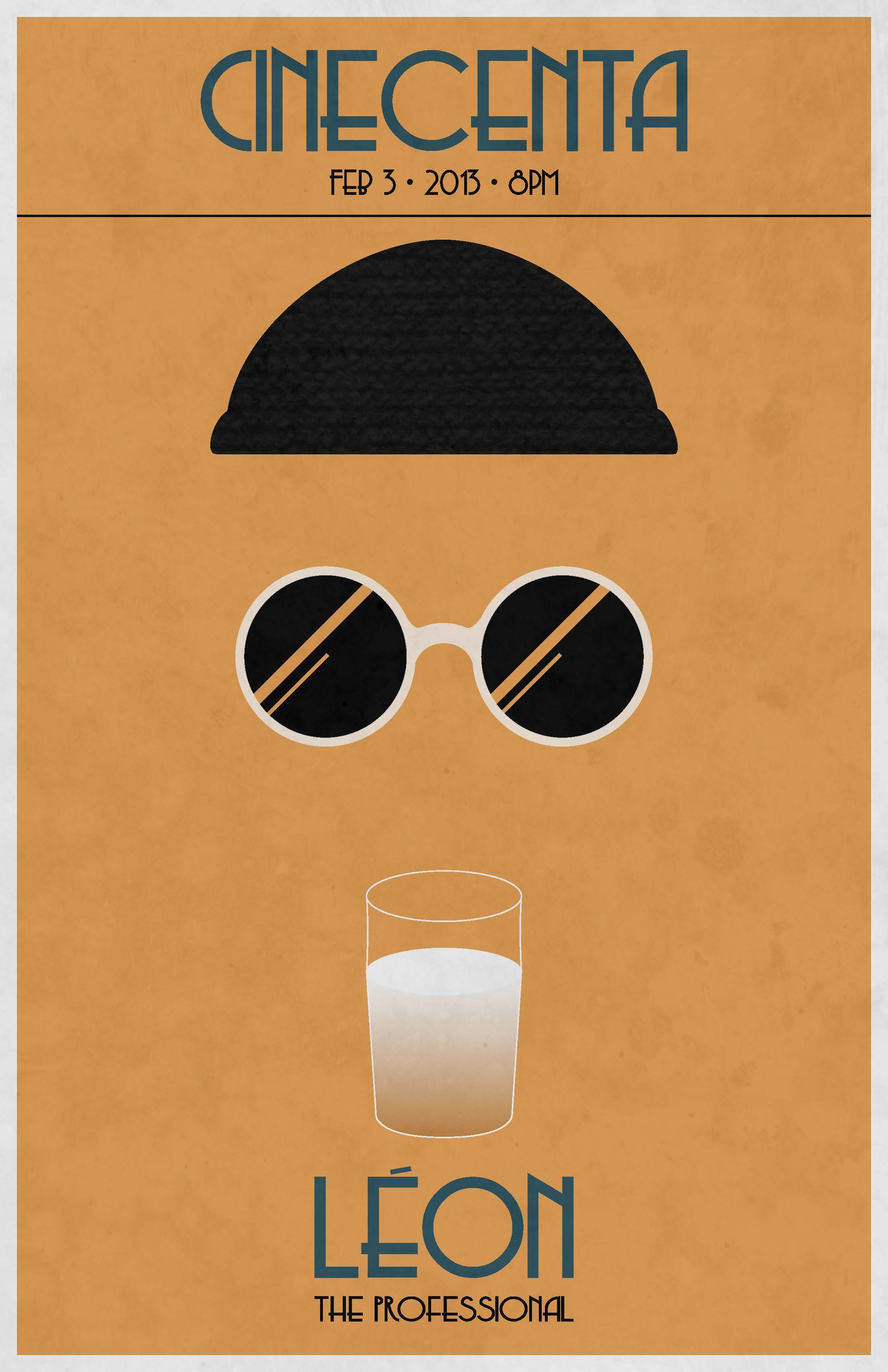 leon the professional poster design special art movie posters