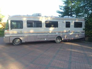 Motorhome 1992 Fleetwood Bounder 32ft With Images Fleetwood