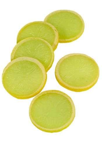 Deko-Zitronenscheibe