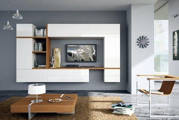 40 unique tv wall unit setup ideas tv walls distance for Living room tv setup ideas