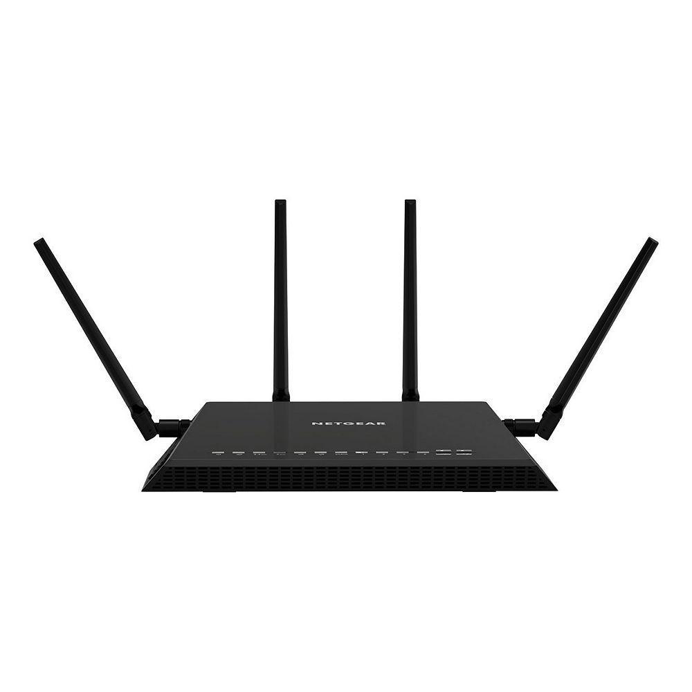 NETGEAR Nighthawk Smart WiFi Gigabit Router (X4S-AC2600