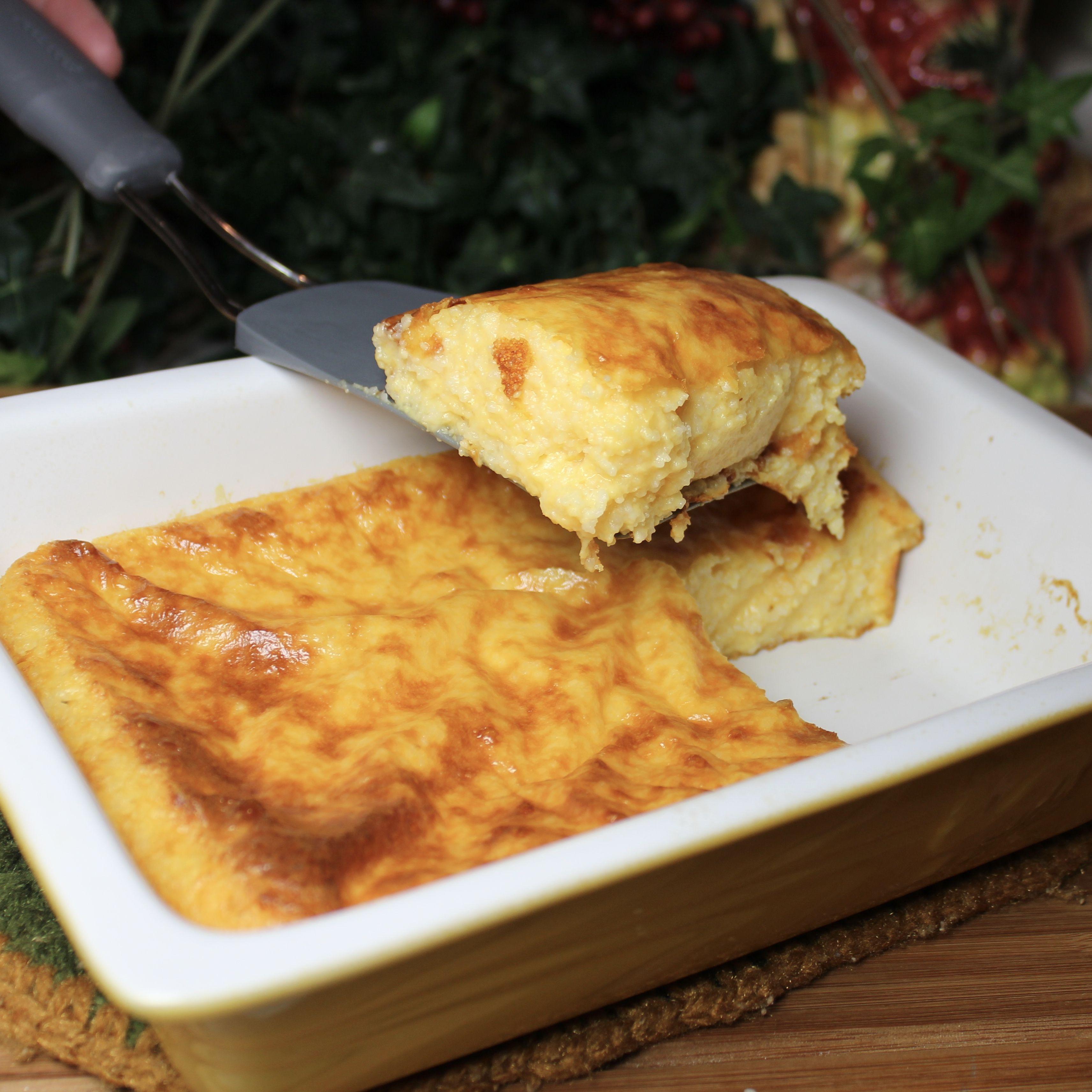 Cheese Grits Casserole #MyAllrecipes #AllrecipesAllstars #AllrecipesFaceless