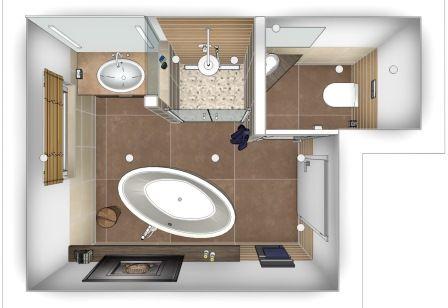 Bad Grundriss Ideen | Möbelideen Badezimmer Grundriss Beispiele