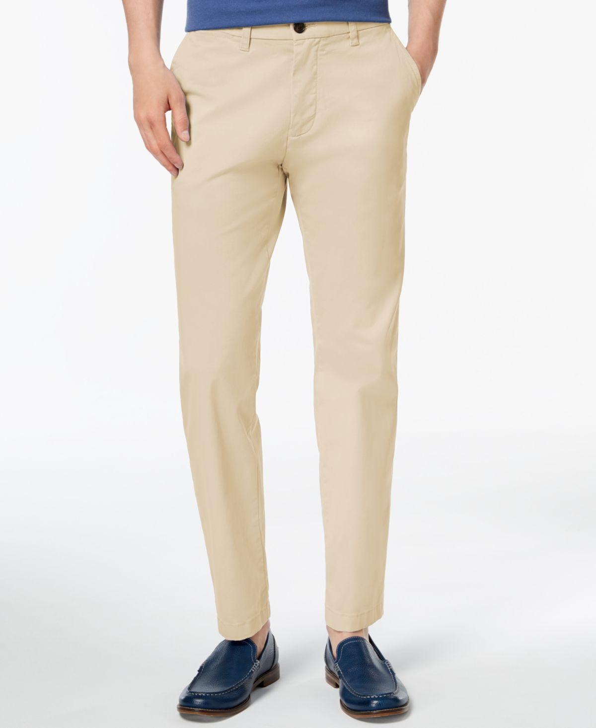 Tommy Hilfiger Men/'s Th Flex Stretch Custom-Fit Chino Pants