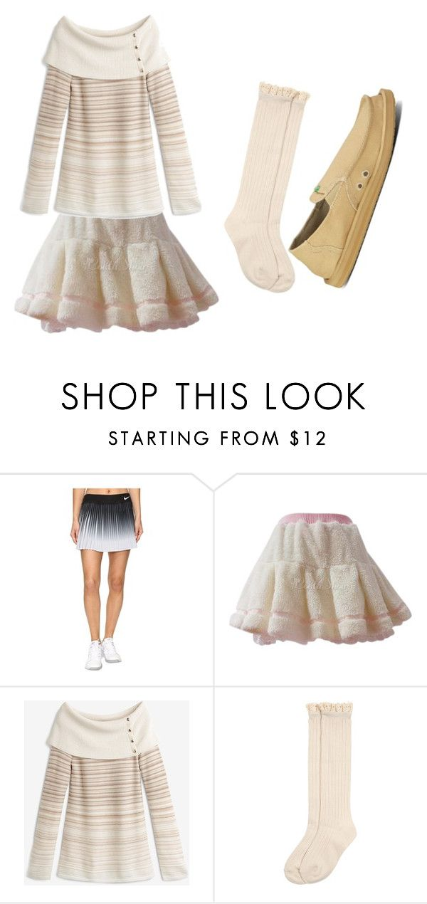 """Untitled #231"" by chaotic-leppy-tracy on Polyvore featuring NIKE, White House Black Market, Monsoon and sanuk"