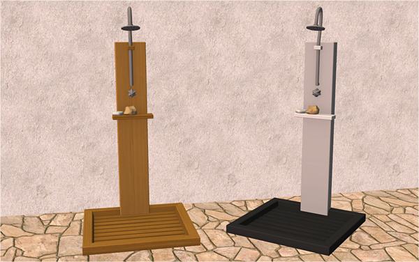 veranka - keep me clean outdoor shower | ts2 buy mode - bathroom, Badezimmer ideen