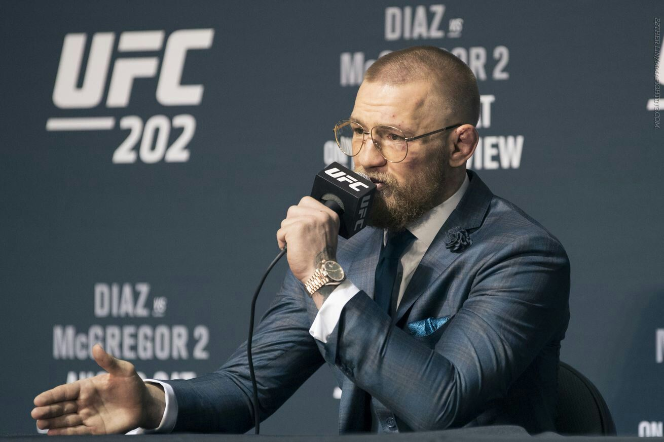 Conor McGregor calls out UFC roster: 'All they do is complain'