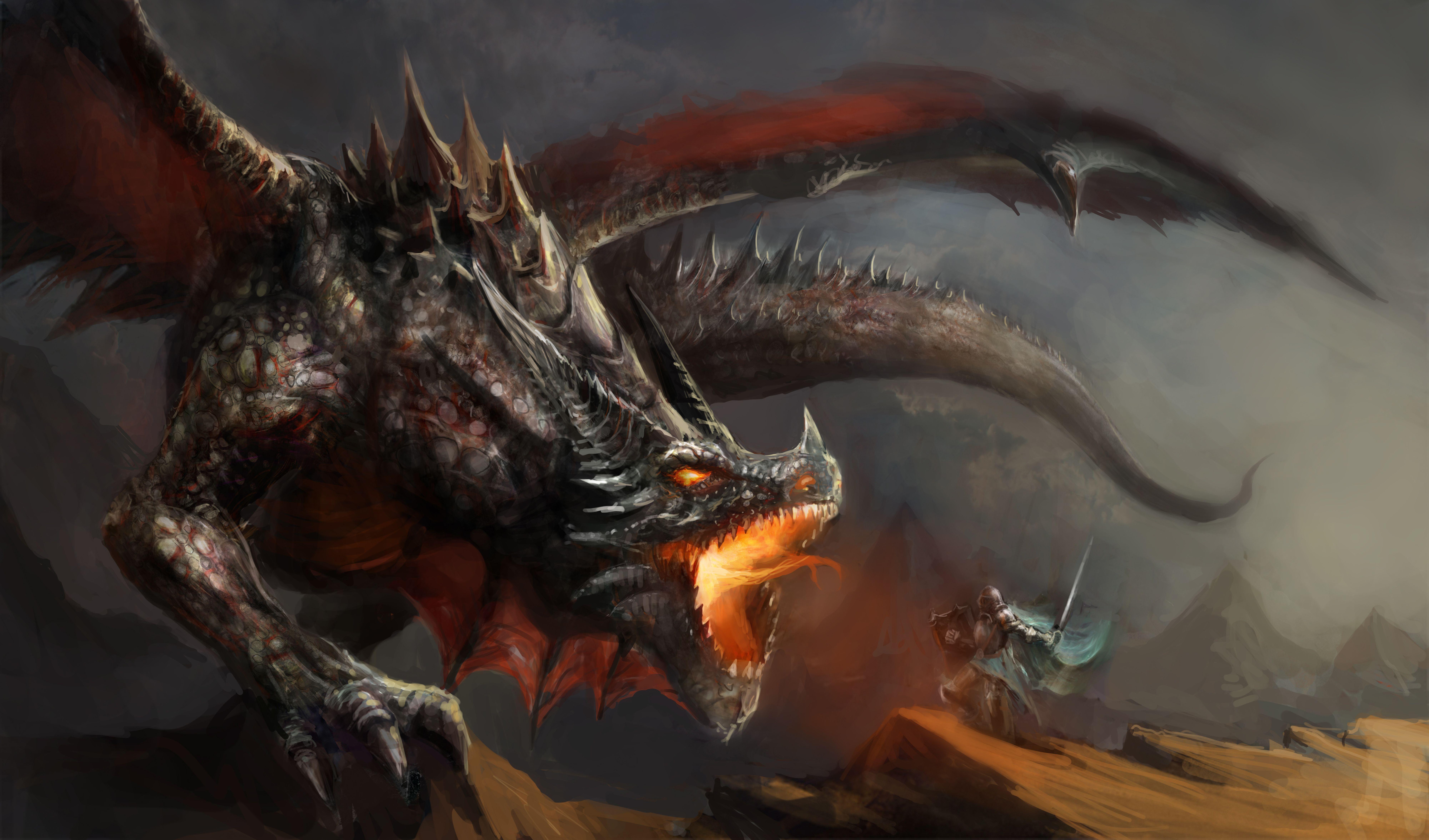 Pin by Brennan Johnson on D&D | Dragon, Mythological
