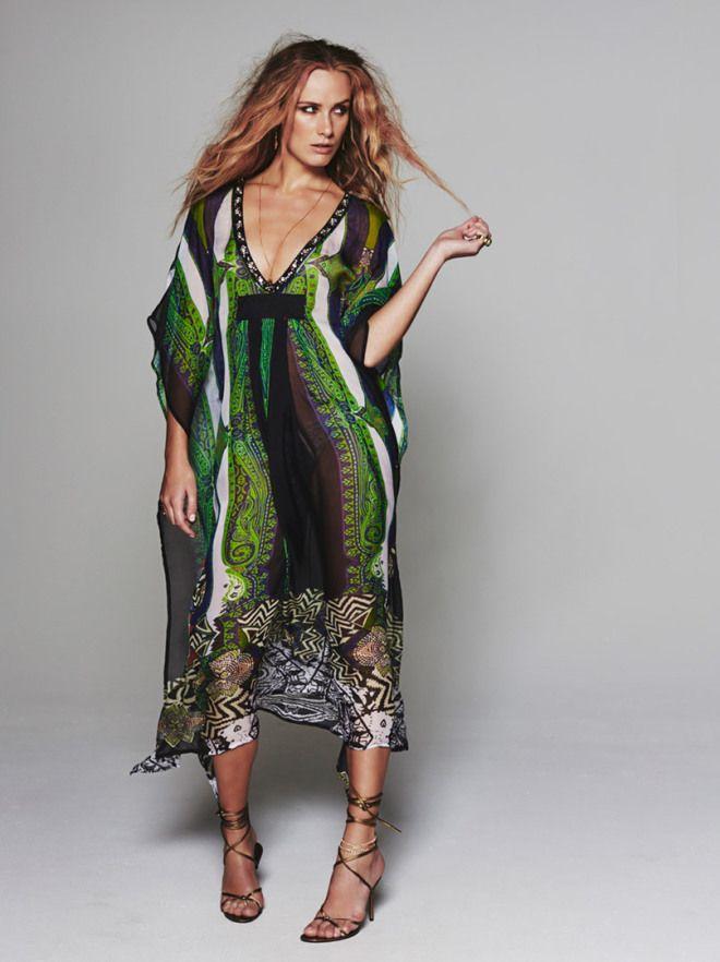 c9797958 Summertime med vakre lange kjoler fra Katrin Uri. Bohemsk + hippie + luksus    #AmbienteFashion #Ambiente