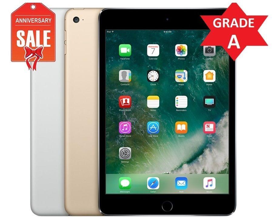 Apple Ipad Mini 4th 16gb 32gb 64gb 128gb Wi Fi 7 9in Gray Silver Gold R Apple Ipad Mini Ipad Mini Apple Ipad