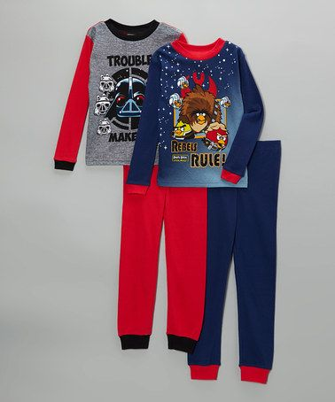 Take a look at this Navy   Red Angry Birds Star Wars Pajama Set - Kids by  Star Wars on  zulily today! 8de58cf3f