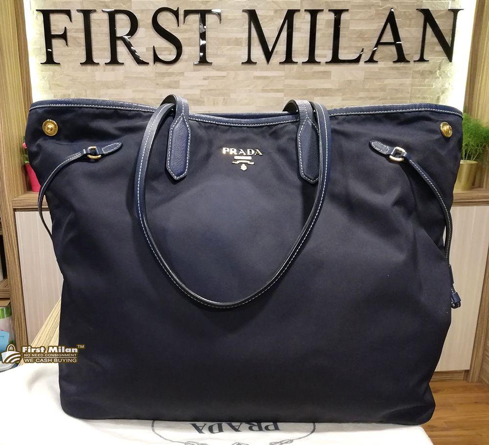 PRADA Large Nylon Tote Bag. Price RM1 742787798a43d