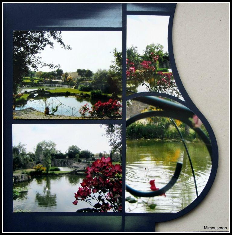 Jardin Saint Adrien Servian France Fotografie