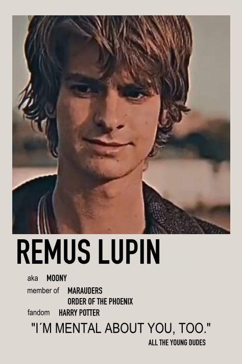 Remus Lupin Minimalist poster
