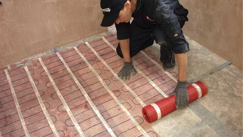 Luxury Installing Heated Floors Under Tile How To Install