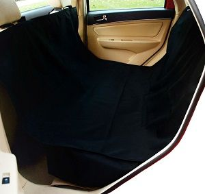 Krunco Waterproof Hammock Pet Seat Cover - Standard size for SUV, Sedan vehicles and the X-Large is for Trucks, Pick Up and Large SUV backseat area.