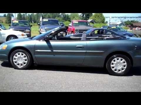 2005 Chrysler Sebring Convertible 4995 Con Imagenes Barones