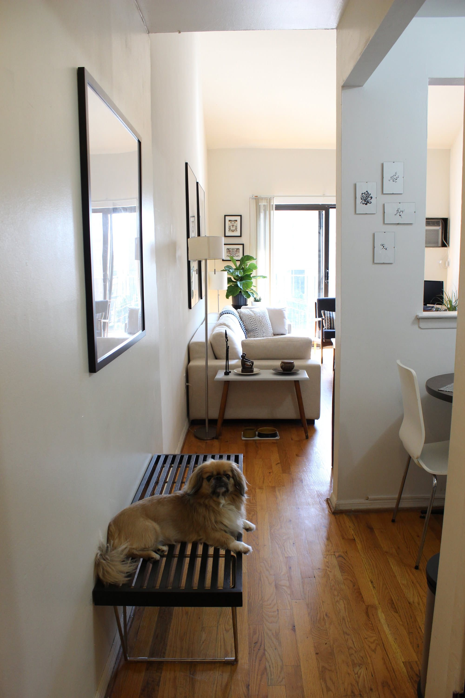 Oliver And Sherrie S 525 Square Foot Vintage Modern Bronx Loft