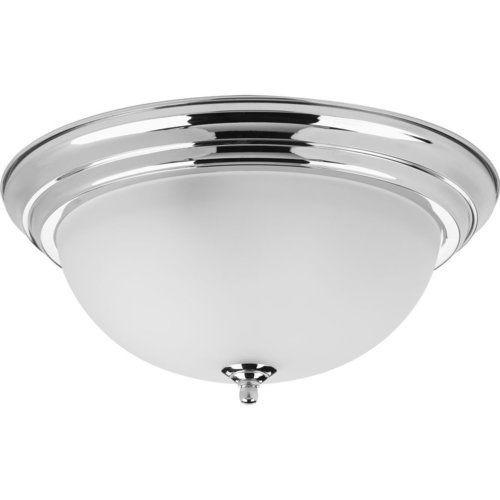 Progress Lighting 15 1 4 Inch Dome Glass 3 Light Close To Ceiling
