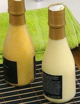 Spa de Champagne El champagne ingresa en el reino de la cosmética ofreciendo efectividad