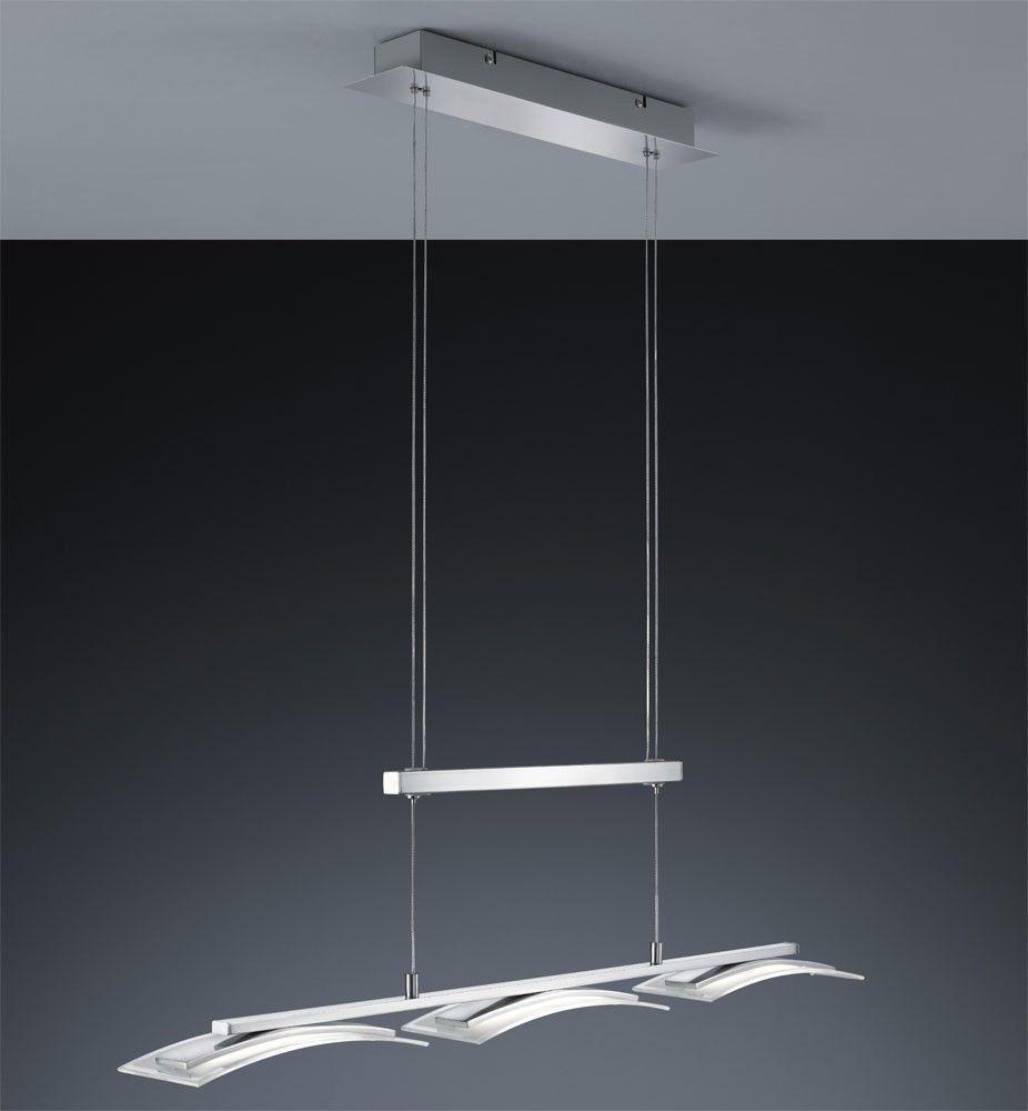 Details Zu LED Jojo Luxus Pendel Leuchte Glas Höhen Verstellbar Esszimmer  Hänge Lampe IP20