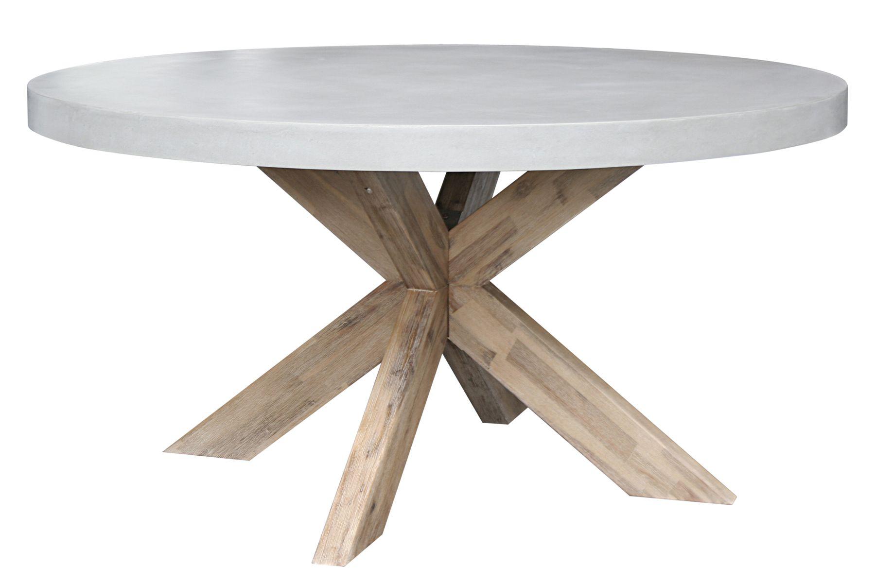 ronde witte houten tuintafel van robuust hout ook leuk. Black Bedroom Furniture Sets. Home Design Ideas