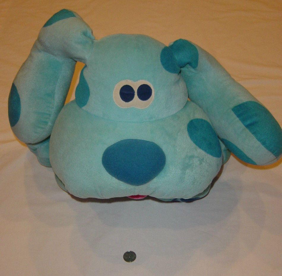 blues clues plush stuffed animal big large huge 14